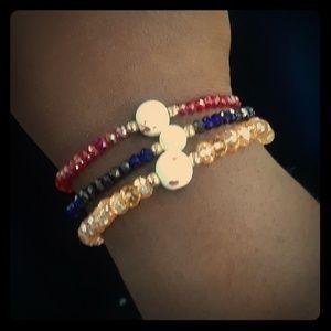 Jewelry - Beautiful  glass breads bracelet